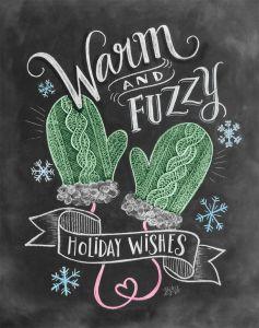 Fuzzy Christmas!